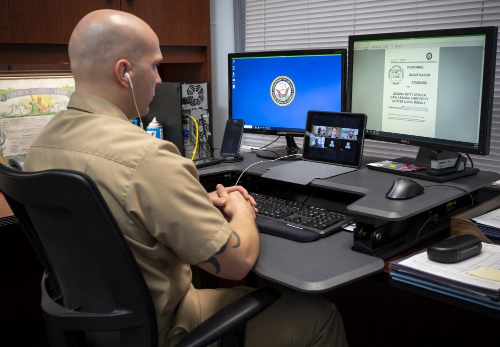 navy telework